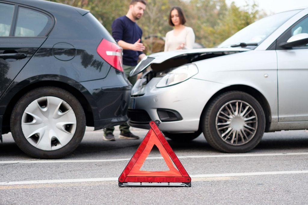 Verkehrsunfall - Unfallstelle absichern